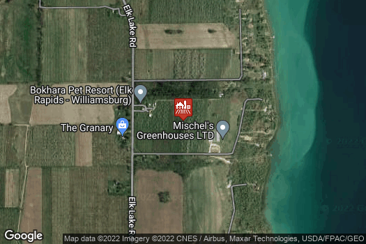 Location Map for Morrison Farms