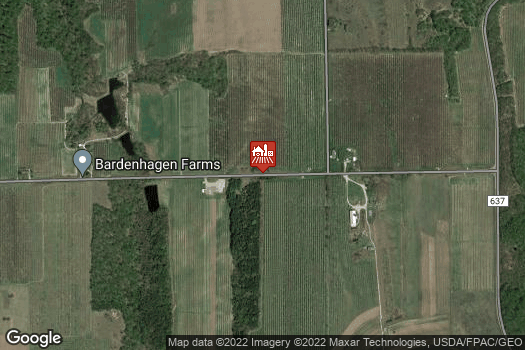Location Map for Bardenhagen Farms