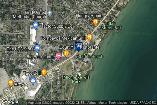 Location Map for Alpena Farmers Market