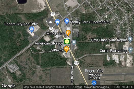 Location Map for Presque Isle County Drain Commissioner