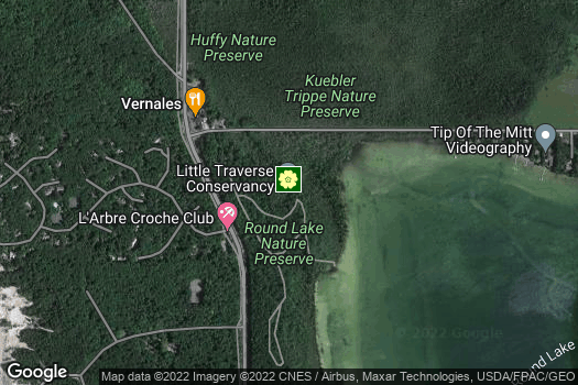 Location Map for Little Traverse Conservancy