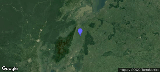 Map of Kabarole, Western Region, Uganda
