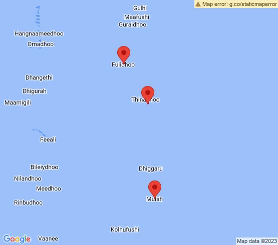 map of fishing charters in Keyodhoo