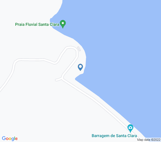 map of fishing charters in Beja