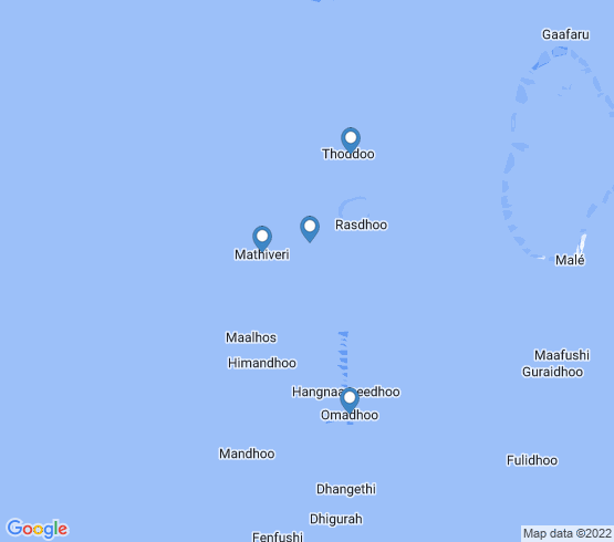 map of fishing charters in Mathiveri