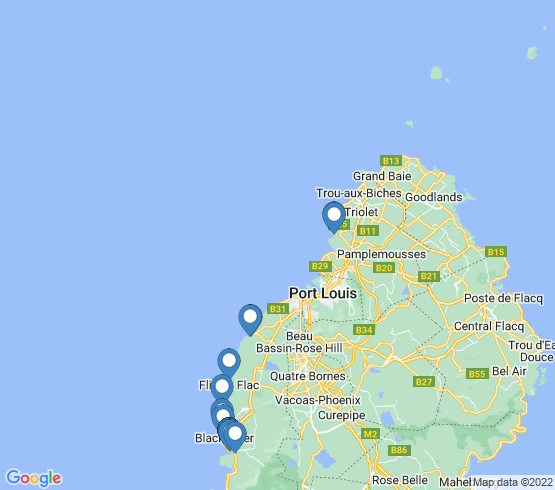 map of Albion fishing charters
