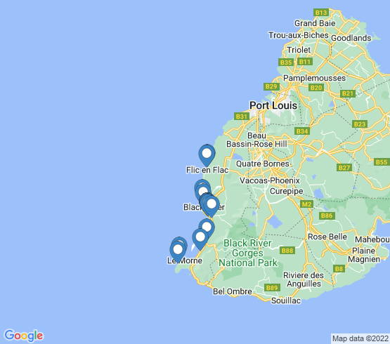 map of Grande Riviere Noire fishing charters