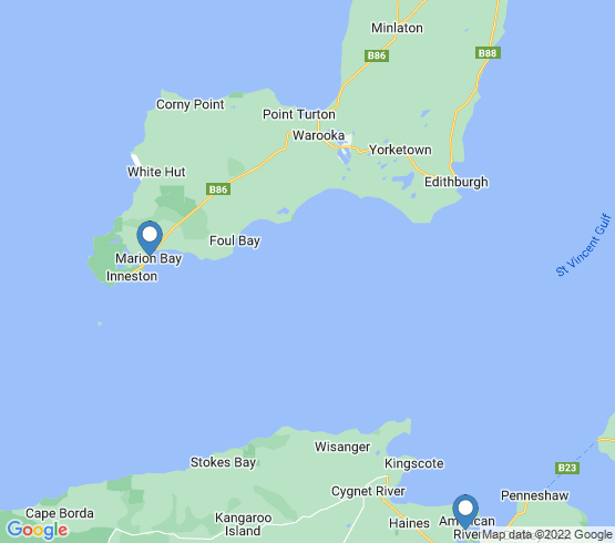 map of South Australia fishing charters