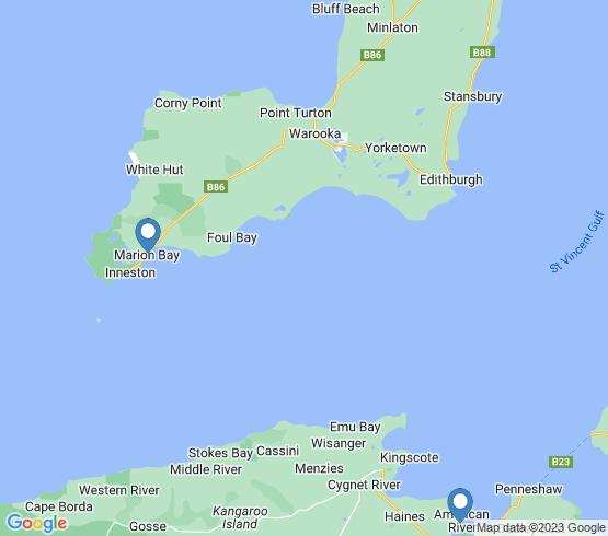 map of South Australia fishing charters