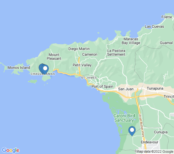 map of Felicity fishing charters
