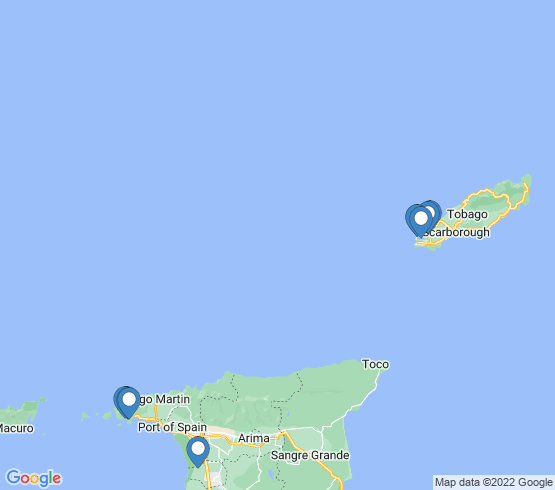 map of Trinidad and Tobago fishing charters
