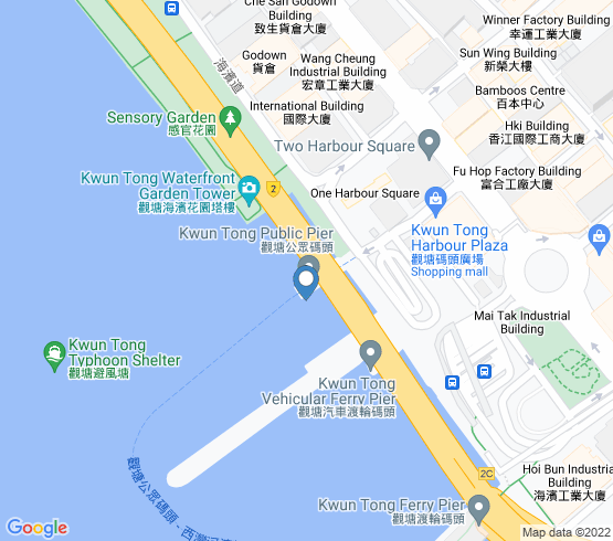 map of Hong Kong fishing charters