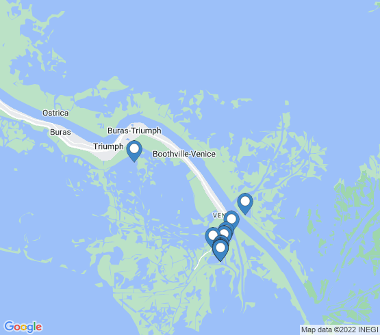 map of Venice fishing charters