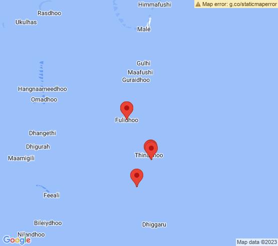 map of Keyodhoo fishing charters