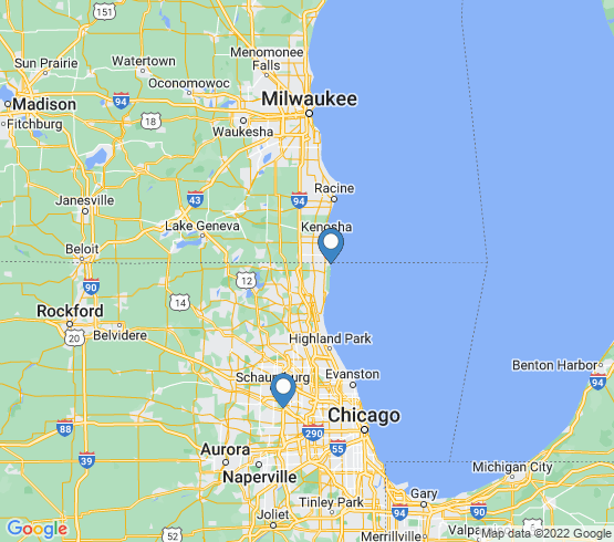 map of Illinois fishing charters