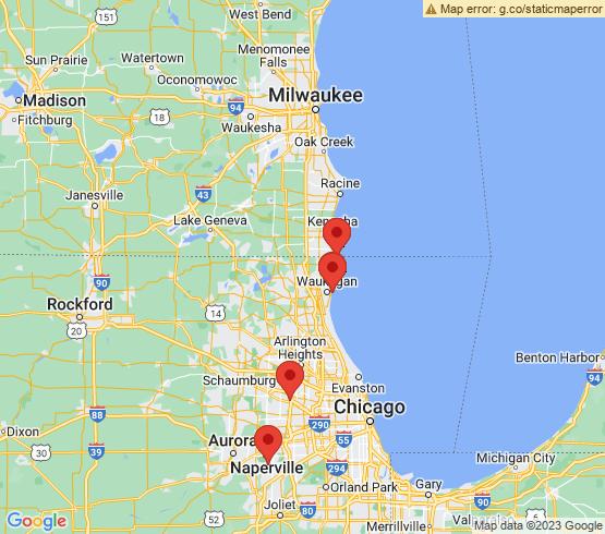 map of Illinois fishing charters