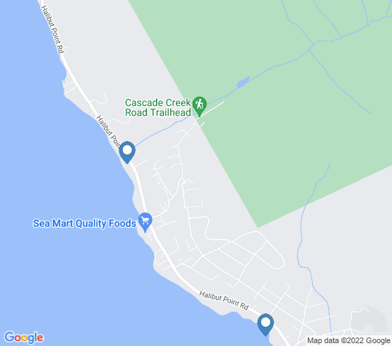 map of Sitka fishing charters
