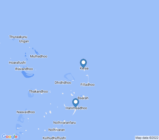 map of Kelaa fishing charters