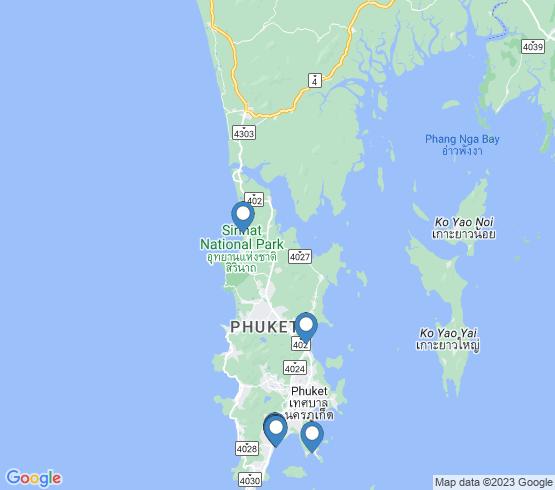 map of Ao Chalong fishing charters