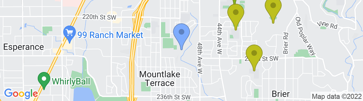 Staticmap?size=582x162&scale=2&center=mountlake+terrace,+wa+98043,+usa&zoom=13&markers=color:blue%7cmountlake+terrace,+wa+98043,+usa&markers=color:0x559f23%7c47.760281, 122.220222%7c47.754871, 122.289993%7c47.740551, 122.303322&markers=color:0x6ba721%7c47.845654, 122.315407%7c47.785568, 122.239594%7c47.745914, 122.359619%7c47.75452, 122.34938%7c47.817108, 122.348267&markers=color:0x86b31f%7c47.812397, 122.241745%7c47.801666, 122.288109%7c47.828026, 122.348175%7c47.798859, 122.362495%7c47.737808, 122.251648%7c47.778164, 122.255806%7c47.726063, 122.337906%7c47.75486, 122.336388%7c47.769234, 122.362411%7c47.741917, 122.297745%7c47.770061, 122.339958%7c47.762562, 122.289185%7c47.740604, 122.336411%7c47.74942, 122.316994%7c47.774361, 122.299088%7c47.784214, 122.357162&markers=color:0xa3be1e%7c47.833637, 122.23967%7c47.845993, 122.322083%7c47.790237, 122.374222%7c47.839588, 122.290443%7c47.82008, 122.361816%7c47.805477, 122.336891%7c47.783195, 122.201675%7c47.801189, 122.220093%7c47.770103, 122.22477%7c47.795914, 122.236931%7c47.723724, 122.306625%7c47.746147, 122.302994%7c47.771957, 122.372734&markers=color:0xbdc01d%7c47.840672, 122.248917%7c47.789478, 122.282753%7c47.798286, 122.277481%7c47.797005, 122.287781%7c47.813541, 122.334503%7c47.812103, 122.334076%7c47.813316, 122.27729%7c47.829948, 122.295227%7c47.847645, 122.321205%7c47.776142, 122.254387&markers=color:0xd2b81a%7c47.802666, 122.345055%7c47.782524, 122.360497%7c47.858231, 122
