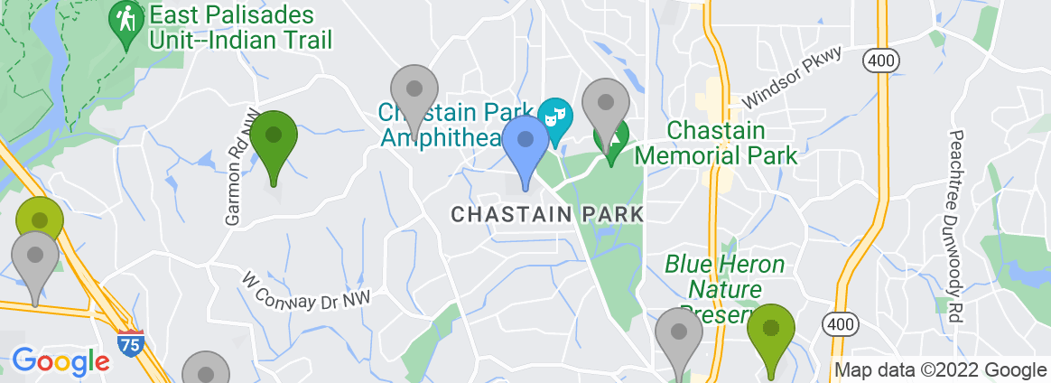 Staticmap?size=582x212&scale=2&center=chastain+park,+atlanta,+ga,+usa&zoom=13&markers=color:blue%7cchastain+park,+atlanta,+ga,+usa&markers=color:0x559f23%7c33.829975, 84.415794%7c33.873375, 84.422821%7c33.874336, 84.322014&markers=color:0x6ba721%7c33.909691, 84.426537&markers=color:0x86b31f%7c33.858181, 84.375481&markers=color:0xa3be1e%7c33.875893, 84.337814%7c33.843502, 84.407867%7c33.819435, 84.390022%7c33.832771, 84.406509%7c33.866638, 84.445%7c33.909302, 84.332184%7c33.917542, 84.417091&markers=color:0xbdc01d%7c33.832584, 84.380371%7c33.865002, 84.485298%7c33.844166, 84.337723%7c33.899101, 84.370384%7c33.898136, 84.359398&markers=color:0xd2b81a%7c33.882633, 84.48349&markers=color:0xdca219%7c33.916828, 84.385178%7c33.841366, 84.337357%7c33.84798, 84.319611&markers=color:gray%7c33.833351, 84.379227%7c33.877029, 84.409439%7c33.89595, 84.366508%7c33.9282, 84.397797%7c33.841343, 84.422157%7c33.84317, 84.407738%7c33.863922, 84.445435%7c33.843323, 84.424927%7c33.831558, 84.385635%7c33.928532, 84.364929%7c33.857899, 84.3843%7c33.940025, 84.375542%7c33.908577, 84.354073%7c33.820747, 84.350159%7c33.854477, 84.429245%7c33.875999, 84.391258%7c33.852722, 84.338455%7c33.882759, 84.465294%7c33.840397, 84.324165%7c33.818478, 84.448257%7c33.831135, 84.406548%7c33.831684, 84.341347%7c33.894836, 84.459068%7c33.836922, 84.4179%7c33.87698, 84.331268%7c33.911232, 84.460884%7c33.812191, 84.385834%7c33.841827, 84.37587%7c33.838173, 84