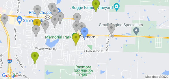 Staticmap?size=585x275&scale=1&center=raymore,+mo&zoom=13&markers=color:blue%7craymore,+mo&markers=color:0xa3be1e%7c38.745262, 94.457771%7c38.814831, 94.445946%7c38.790604, 94.482307&markers=color:0xbdc01d%7c38.718102, 94.455025%7c38.79908, 94.457893%7c38.769062, 94.471748&markers=color:0xd2b81a%7c38.805988, 94.481026&markers=color:gray%7c38.719177, 94.458565%7c38.812279, 94.480751%7c38.80418, 94.454414%7c38.808983, 94.467262%7c38.807438, 94.470329%7c38.804623, 94.457497%7c38.809032, 94.467247%7c38.814884, 94.445923%7c38.719177, 94.458565%7c38.803616, 94.436707%7c38.740116, 94.458321%7c38.808563, 94.457153%7c38.80304, 94.481522%7c38.813408, 94.471954%7c38.805164, 94.476013%7c38.719177, 94.458565%7c38.749035, 94.457291%7c38.740963, 94.457047%7c38.740971, 94.45697%7c38.808006, 94.500328%7c38.811466, 94