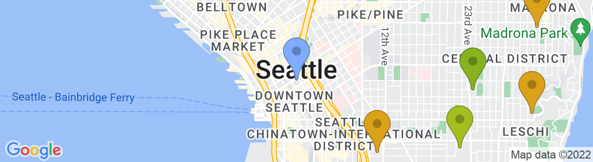 Staticmap?size=592x162&scale=2&center=seattle,+wa,+usa&zoom=13&markers=color:blue%7cseattle,+wa,+usa&markers=color:0x439325%7c47.640697, 122.365585&markers=color:0x559f23%7c47.616688, 122.232422%7c47.656742, 122.390396%7c47.670284, 122.362244&markers=color:0x6ba721%7c47.577393, 122.407402%7c47.564095, 122.312057%7c47.671738, 122.292%7c47.654716, 122.349129%7c47.657726, 122.338242%7c47.632854, 122.352188%7c47.657188, 122.323898%7c47.636585, 122.35894%7c47.64064, 122.304665%7c47.566555, 122.396355%7c47.642433, 122.323708%7c47.668266, 122.326553%7c47.65995, 122.339882&markers=color:0x86b31f%7c47.55257, 122.380455%7c47.605038, 122.301849%7c47.580002, 122.3871%7c47.662201, 122.27803%7c47.573071, 122.390472%7c47.55809, 122.318962%7c47.642841, 122.399696%7c47.591007, 122.299812%7c47.637863, 122.349068&markers=color:0xa3be1e%7c47.585072, 122.315392%7c47.552311, 122.314049%7c47.676331, 122.32859%7c47.541752, 122.374084%7c47.624702, 122.318306%7c47.634022, 122.284836%7c47.598373, 122.304131%7c47.576817, 122.384186%7c47.621937, 122.351746%7c47.565319, 122.396988%7c47.548679, 122.362198&markers=color:0xbdc01d%7c47.622665, 122.305405%7c47.631451, 122.307625%7c47.565712, 122.283409&markers=color:0xd2b81a%7c47.576115, 122.29277%7c47.573338, 122.290718%7c47.54652, 122.282448%7c47.554665, 122.276009&markers=color:0xdca219%7c47.551857, 122.296181%7c47.574368, 122.302681%7c47.602325, 122.291733%7c47.612301, 122.290901%7c47.597805, 122.318298&markers=color:0xe78817%7c47.539864, 122