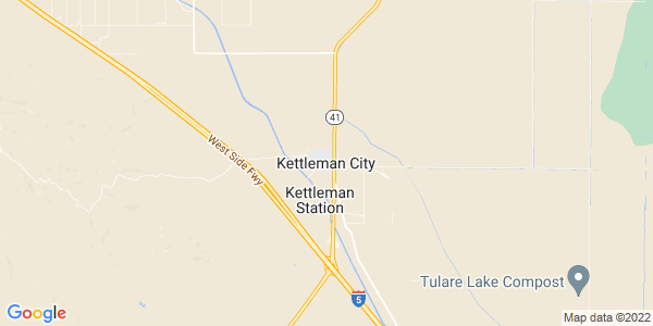 Map of Kettleman City, CA