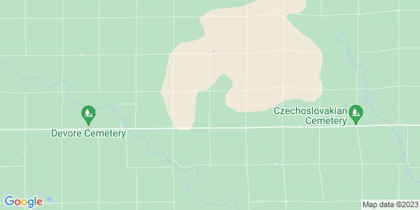 Map of Bluff, KS
