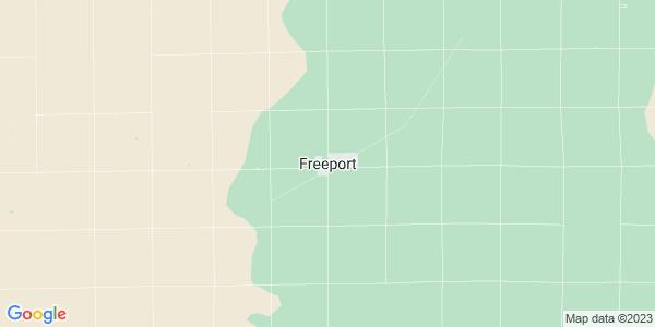 Map of Freeport, KS