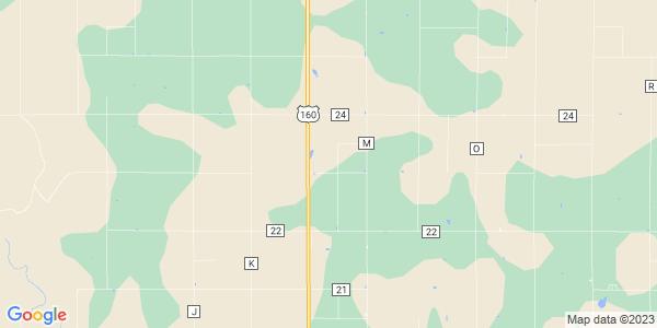 Map of Seward, KS