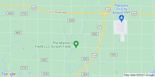 Map of Cherry, KS