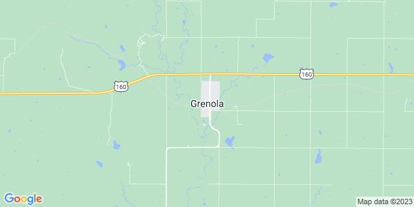 Map of Grenola, KS