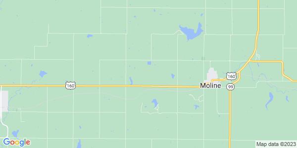 Map of Wildcat, KS