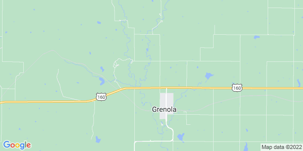 Map of Greenfield, KS