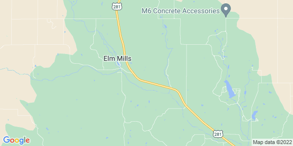 Map of Elm Mills, KS