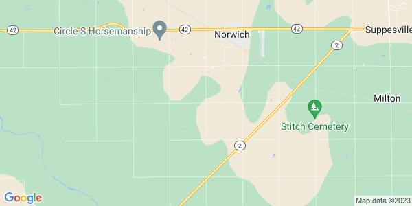 Map of Bennett, KS