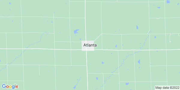 Map of Atlanta, KS