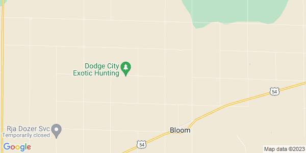 Map of Bloom, KS