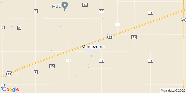 Map of Montezuma, KS