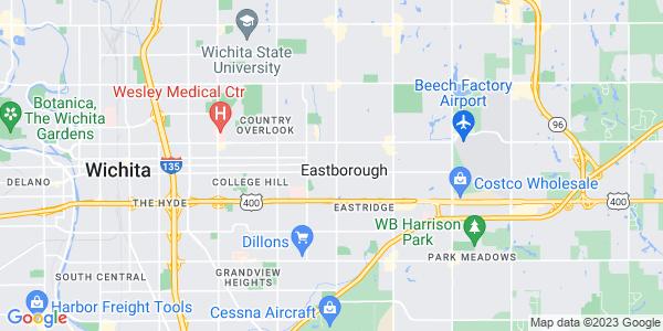 Map of Eastborough, KS