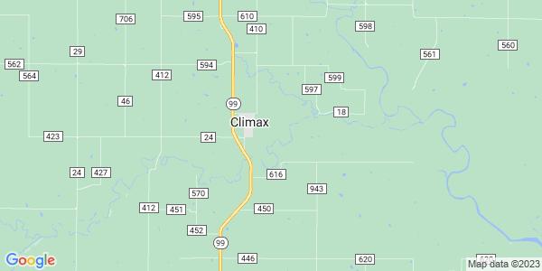 Map of Fall River Township, KS