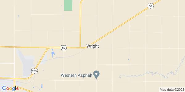 Map of Wright, KS