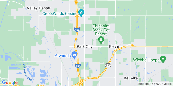 Map of Kechi Township, KS