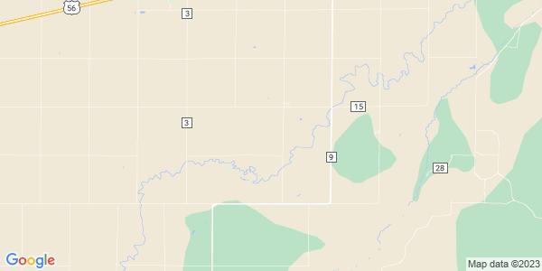 Map of Trenton, KS