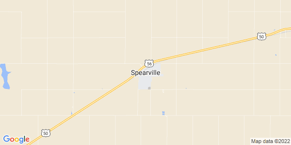 Map of Spearville, KS