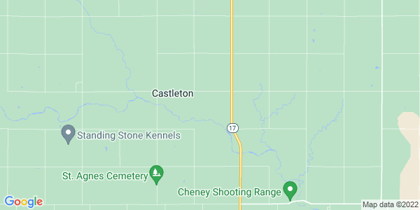 Map of Castleton, KS