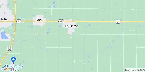 Map of Elm, KS