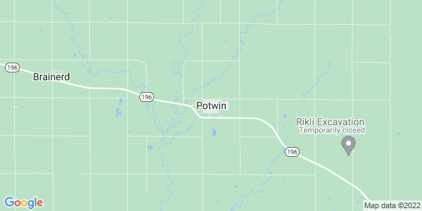 Map of Potwin, KS