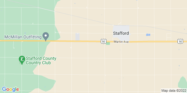 Map of Stafford Township, KS